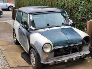 classic mini project Austin 998cc