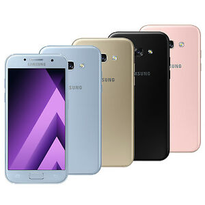Samsung Galaxy A3 2017 SM-A320F/DS (FACTORY UNLOCKED) Gold White Black Pink Blue