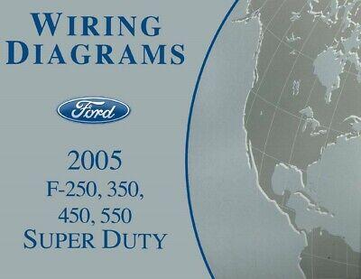 2005 ford f250f550 super duty truck electrical wiring