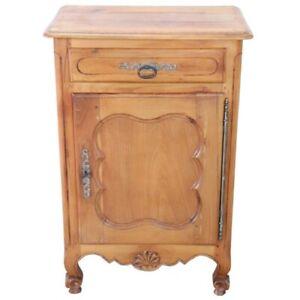 details sur meuble ancien particulier petit buffet de style louis xiv en merisier massif