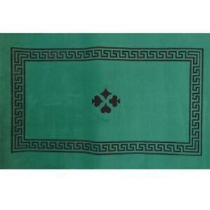 details sur tapis de jeu de cartes antiderapant 70 x 50 cm ideal pour la belote tarot poker