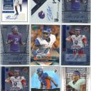 BOISE STATE BRONCOS ROOKIE AUTOGRAPH 10 CARD LOT DARIAN THOMPSON