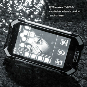 """Blackview BV6000S 4G LTE Waterproof 4.7"""" Quad core Android 6.0 GPS Mobile Phone"""