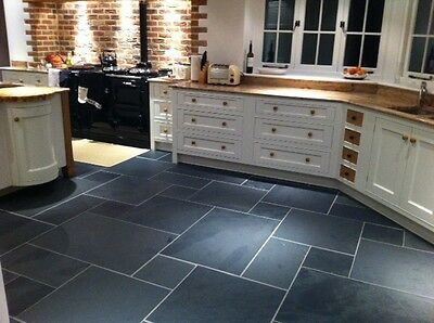 calibrated brazilian black slate tile sample off cut approx 10 cm x 10 cm ebay
