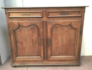 details sur buffet rustique meuble d appui du xviii siecle dreche flamannde
