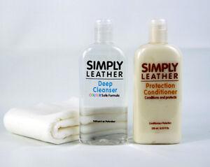 protection en cuir simplement revitalisant amp nettoyant pour