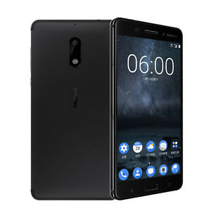 Unlocked Nokia 6 Octa Core 4G RAM 64G ROM Android Dual Sim 5.5'' 16MP Smartphone
