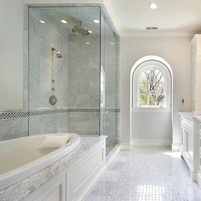 white carrara polished marble tile 12 x24 x3 8 200 sq ft ebay