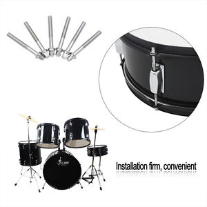 6 Pieces Standard 2 4 Inch Tension Rod for Tom Tom Snare Drum Drum     Image is loading 6 Pieces Standard 2 4 Inch Tension Rod