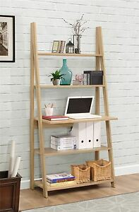 Birlea Nordic Scandinavian Retro Ladder Bookcase Desk Shelving Shelf     Image is loading Birlea Nordic Scandinavian Retro Ladder Bookcase Desk  Shelving