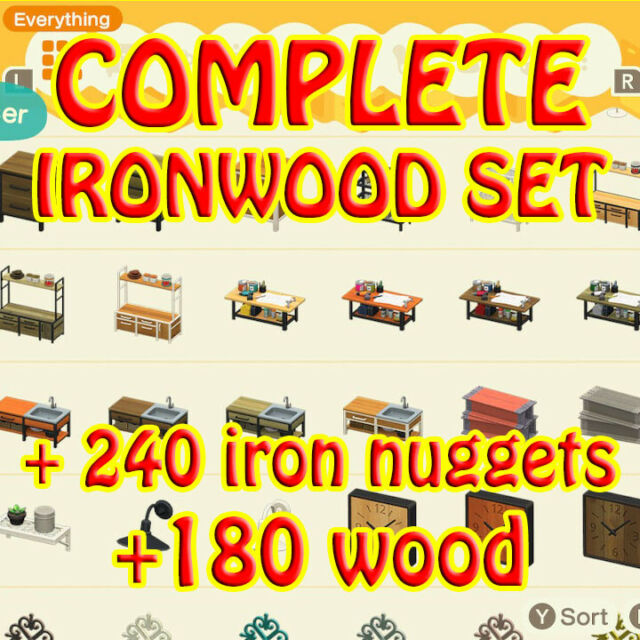 All Ironwood DIY and Cutting Board+Gifts(Online) | eBay on Ironwood Animal Crossing  id=98539