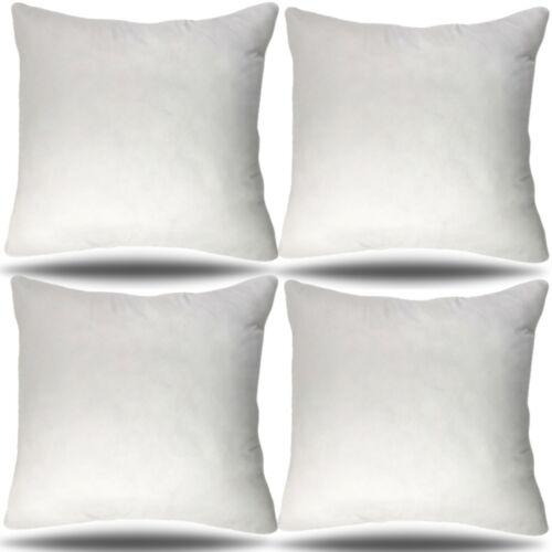 set of 4 36x36 pillow insert decorative sham square bolster cushion 36 inch