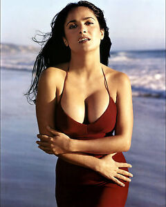 Image Is Loading Salma Hayek Hot And Sexy Big Boobs 8x10