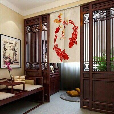 chinese door curtains japanese noren tapestry kitchen doorway room divider ebay