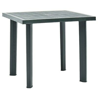 garden plastic table with umbrella hole outdoor picnic coffee tables green ebay