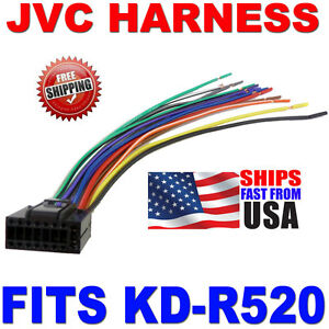2010 JVC WIRE HARNESS 16 PIN HARNESS KDR520 KDR520 | eBay