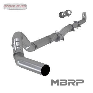 details about mbrp 5 exhaust 01 07 chevy gmc duramax diesel 6 6l no muffler s60200plm