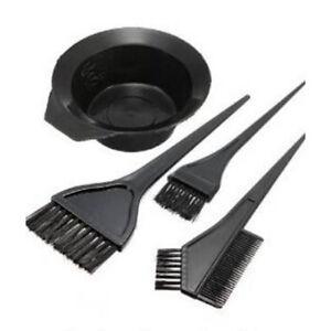 hair color dye bowl b brushes tool kit set tint coloring lw ebay