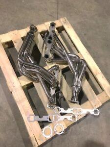 details zu 92 96 for corvette c4 stainless long tube exhaust headers manifolds lt1 lt 1 lt4