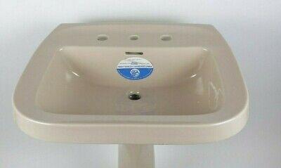 vintage bathroom sink only jamaican beige gerber 4 spread retro
