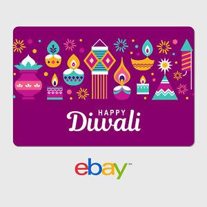 eBay Digital Gift Card - Happy Diwali - Email Delivery