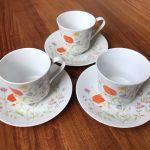 3 Vtg Jepcor Wilshire House Fine China English Garden Tea Cup Saucer Japan Ebay