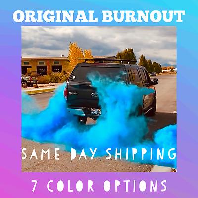holi color powder tire burnout bag gender reveal ideas colored exhaust smoke ebay