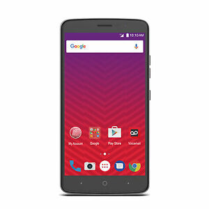"ZTE Max XL 6"" Android 16GB LTE Smartphone For Virgin Mobile"
