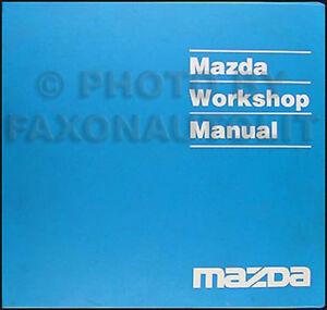 1994 Mazda MX3 MX3 Original Shop Repair Manual 94 | eBay