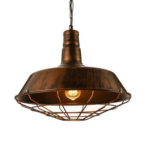 details about rustic industrial outdoor pendant light vintage big barn hanging ceiling lamp