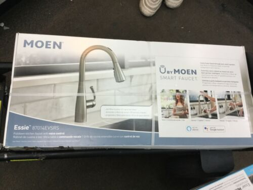 bad kuche moen essie voice activated touchless smart kitchen faucet 87014evsrs brand new heimwerker breathtime kz