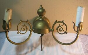 Candle Electric Wall Lighting Fixture Wall Sconce Vintage ... on Wall Sconce Parts id=89883