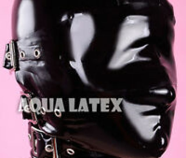 Image Is Loading Rubber Latex Bondage Hood With Removable Eyes Cover