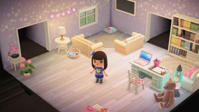 Animal Crossing Cute Living Room Set | eBay on Animal Crossing New Horizons Living Room  id=56419