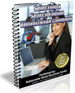 SELECTING A SEARCH ENGINE OPTIMIZATION COMPANY PDF EBOOK FREE SHIPPING