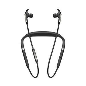 Jabra Elite 65e Alexa Wireless Neckband ANC Earbuds (Manufacturer Refurbished)
