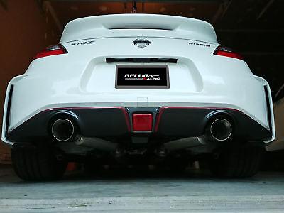 beluga racing high performance axle back exhaust 370z nismo 2016 2017 2018 2019 ebay