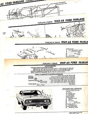 19671971 ford fairlane torino ranchero cobra wiring