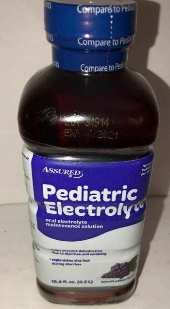 Assured pediatric electrolyte