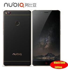 "Nubia Z11 5.5"" Borderless 4GB/6GB RAM 128GB/64GB ROM Mobile Phone Snapdragon 820"
