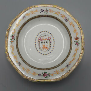 18th Century Chinese Export Famille Rose Armorial Plate – Jackson