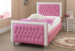 Image Is Loading Pink Bed For Girls Beds 3ft Single Beds