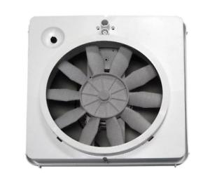 details zu roof exhaust fan vent kit 12v 1 speed camper trailer rv ventilation vortex parts