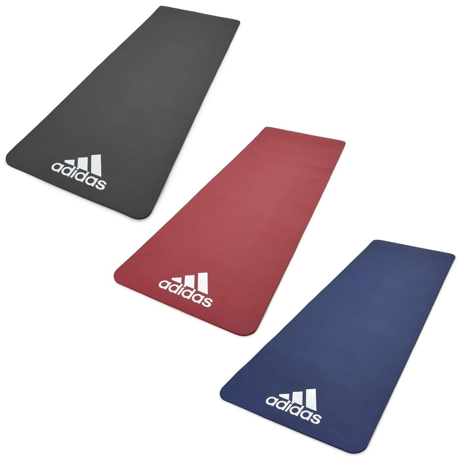 details sur adidas 7 mm exercice tapis gym entrainement fitness large epais rembourre entrainement yoga afficher le titre d origine