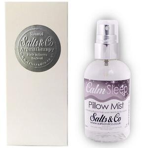 details zu chamomile lavender valerian pillow mist spray calm sleep salts co 100ml