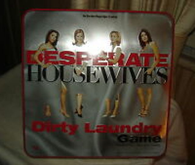 Item  Desperate Housewives Dirty Laundry Board Game New In Tin Ages  Desperate Housewives Dirty Laundry Board Game New In Tin Ages