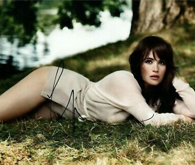 Gemma Arterton Sexy Autographed Signed X Photo Coa Ebay