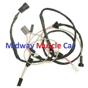 cowl induction hood wiring harness 69 Chevy Camaro 1969   eBay