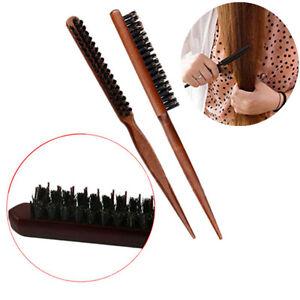 hair brush styling b back bing teasing brushes pointed tail bristle brush ebay