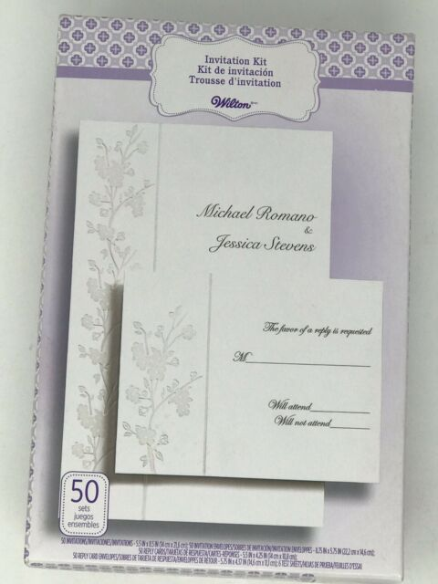 Ct Invitation Kit Sheer Elegance